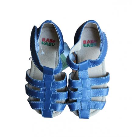 Sandália Trançada Azul Babo Uabu