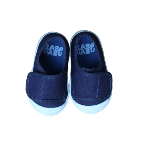 Tênis com Velcro Azul Marinho Babo Uabu