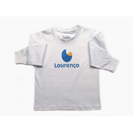 Camiseta Manga Longa Lourenço Castanho