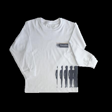 Camiseta Manga Longa Gracinha
