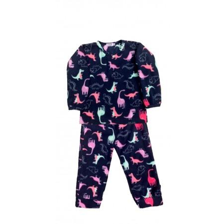 Pijama M Longa Microsoft Dino Fluo