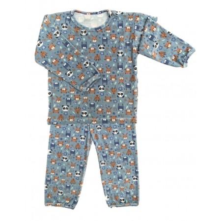 Pijama M longa Plush Panda Raposinha
