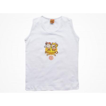 Camiseta Regata Recanto Infantil
