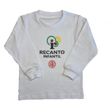 Camiseta Manga Longa Recanto Infantil