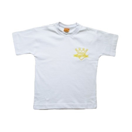 Camiseta Manga Curta Escola Pequeno Reino