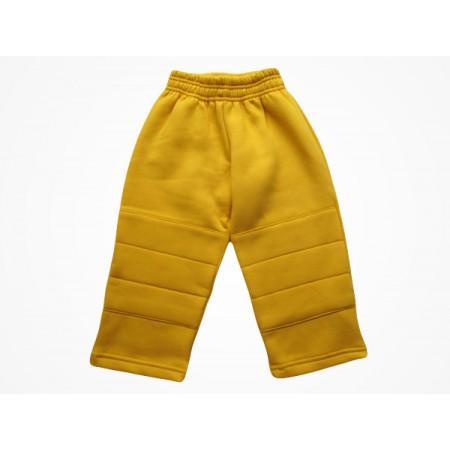 Calça Moleton Masculina Escola Viva Infantil Amarelo