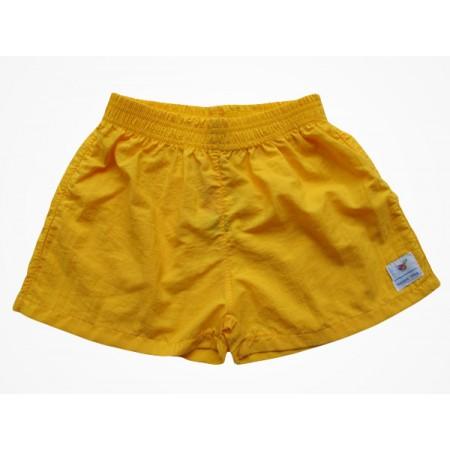 Short Tactel Escola Viva Infantil Amarelo