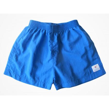 Short Tactel Escola Viva Infantil Azul