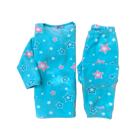 Pijama Microsoft Estrela Azul