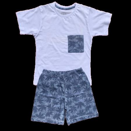 Pijama de Algodão Palmeiras