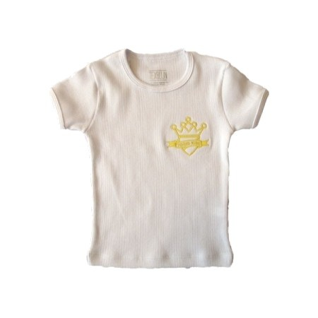Camiseta Baby Look Canelada Escola Pequeno Reino
