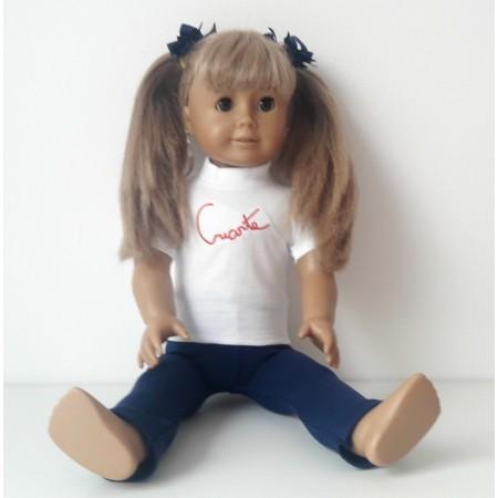 kit boneca 2 peças Criarte