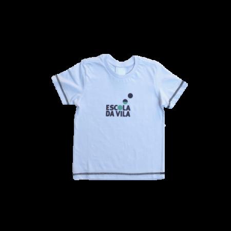 Camiseta Manga Curta (Uniforme e Capoeira) Escola da Vila