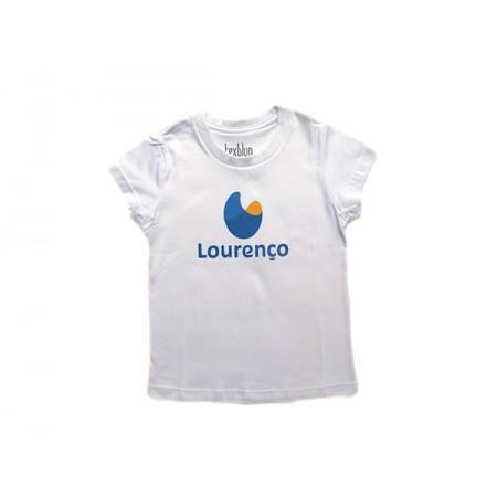 Camiseta Baby Look Lourenço Castanho