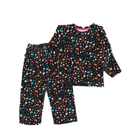 Pijama M Longa Plush Bosque