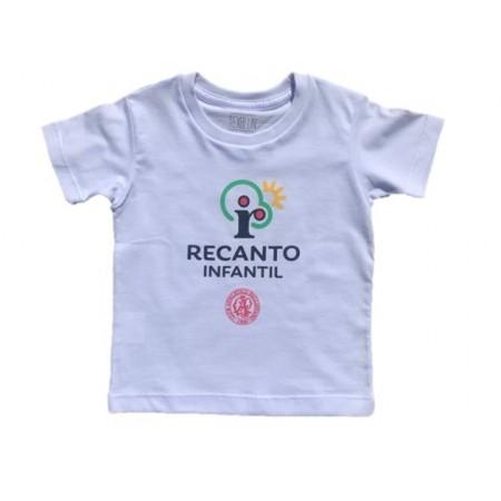 Camiseta Manga Curta Recanto Infantil
