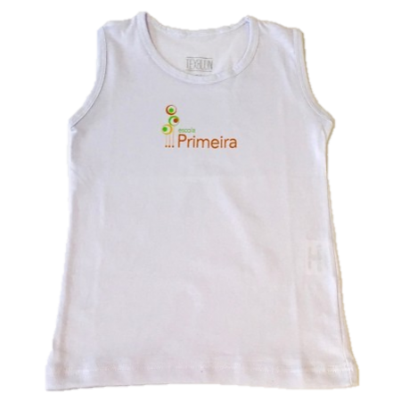 Camiseta Regata Escola Primeira Fundamental