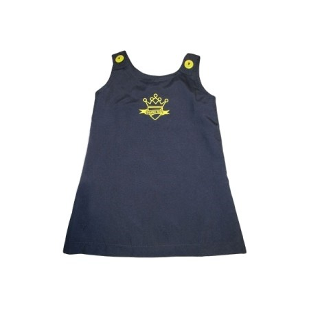 Vestido Tactel Escola Pequeno Reino