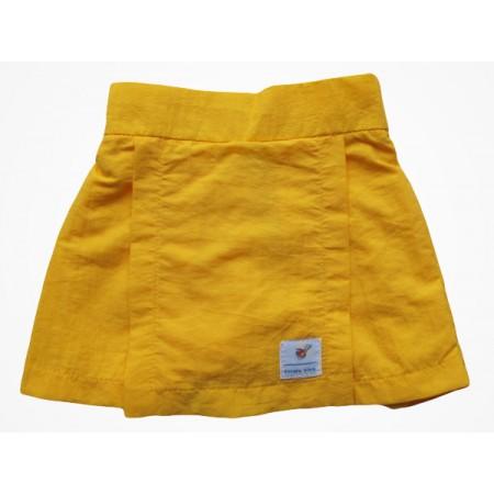 Short Saia de Tactel Viva Infantil Amarelo
